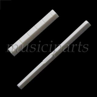 high quality real bone Classical Guitar bone nut & saddle guitar parts