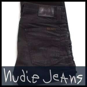 Nudie Jeans TUBE KELLY Dusty Black BLACK 32x34