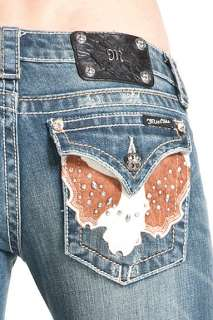 Me Womens Jeans NWT JW4292B6 MED44 Boot Cut ,
