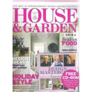 House & Garden Magazine (UK) (Design Ideas smart ways with