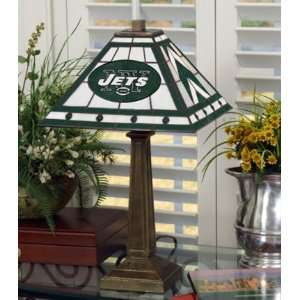New York Jets Memory Company Team Mission Lamp NFL Football Fan Shop