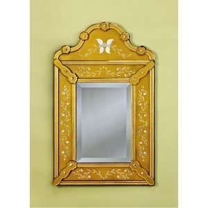 Pauline Gold Wall Mirror