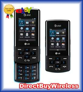 NEW in BOX LG CF360 BLUE BLACK UNLOCKED AT&T T MOBILE CELLULAR PHONE
