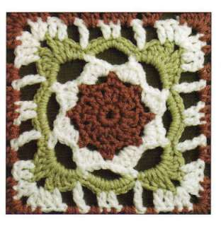 50 Crochet Granny Squares Flowers Patterns Afghan Motif