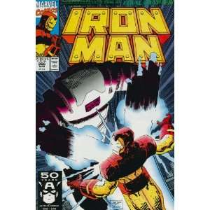 Iron Man (1st Series) #266: John Byrne, John Romita Jr.: Books