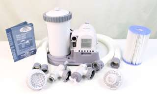 INTEX 2500 GPH Krystal Clear Swimming Pool Filter Pump with Timer