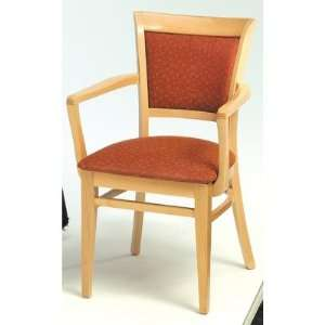 Grand Rapids Chair W535A Melissa Upholstered Back Wood Arm