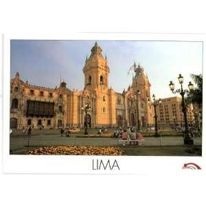 Pošalji mi razglednicu, neću SMS, po azbuci 124444741_-new-postcard-peru-cathedral-lima-parade-ground-
