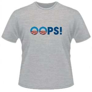 Funny Shirt Obama Oops Toys Games thumb