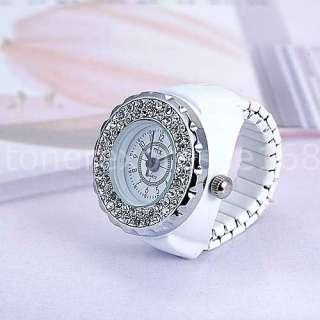 Alias Kim Ladys Leopard Leather Crystal Stone Dial Quartz Wrist Watch