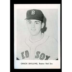 1961 Chuck Schilling Boston Red Sox Jay Publishing Photo