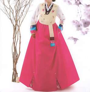 Hanbok : Pink Luxury Korean Traditional Dress