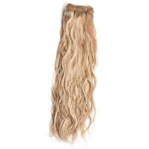 14 Omega Natural Wavy Human Hair Extensions by Wig Pro
