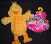 NWT Build A Bear HAPPY CHICK Easter Egg Hat unstuffed