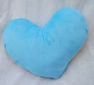 Lovely Rainbow &Blue heart Pillow/Cushion 42*35CM