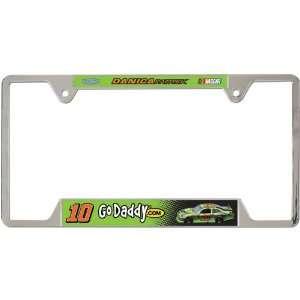 NASCAR Danica Patrick Metal License Plate Frame Sports