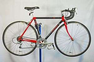 carbon fiber 2300 ZX road racing bicycle bike Red Shimano 105 49cm