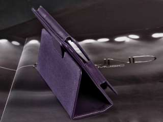 Leather Folio Case Pouch Cover W/Stand F  Kindle Fire 7