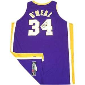 Shaquille ONeal Los Angeles Lakers Autographed Nike Pro