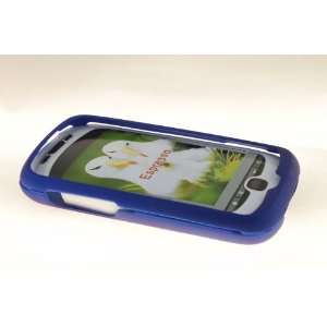 HTC MyTouch Slide 3G Hard Case Cover for Blue Everything