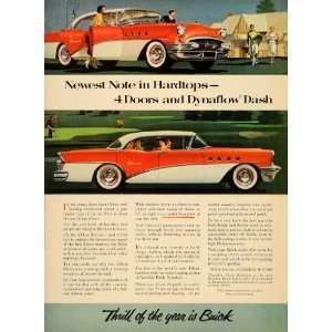 1955 Ad Vintage Buick Hardtop Convertible Riviera Cars