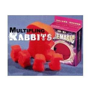 Multiplying Sponge Rabbits   Close Up Magic Trick Toys