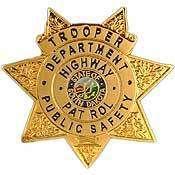 SOUTH DAKOTA HIGHWAY PATROL POLICE OFFICER BADGE PIN