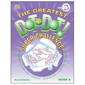 Greatest Dot to Dot Super Challenge Book 8 Toys & Games