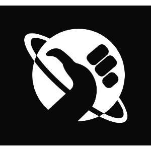 (2) Hitchhikers Guide to the Galaxy Die Cut Vinyl Decal