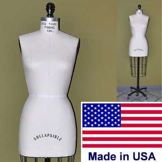New York Form   Missy Dress Form Size 12 *** DRESSFORM MADE IN USA