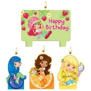 Strawberry Shortcake Mini Candles Toys & Games
