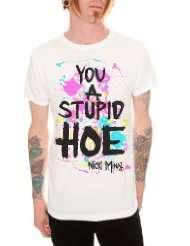 Nicki Minaj Stupid Hoe Slim Fit T Shirt