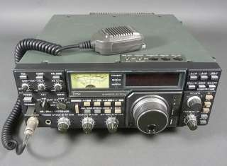 Ham Radio ICOM IC 751A HF Transceiver with ICOM HM 36 Microphone