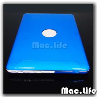 BLUE Crystal Hard Case Cover for NEW Macbook 13 WHITE