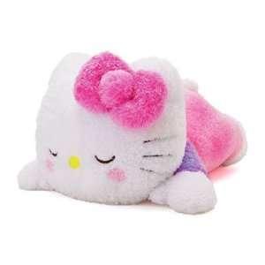 Hello Kitty   Huggable Pillow Sleeping Kitty 22 Inch Plush