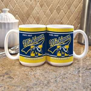 Michigan Wolverines Coffee Mug Sports & Outdoors