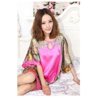 Womens pajama Sleepwear House Dress Maternity dress Robe valentine