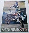 1972 Vintage 125 cc Yamaha Dirt Bike Motorcycle Enduro 4 Repair. RARE