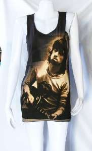 Keith Richards ROCK ROLL UK POP ART Indie WOMEN T SHIRT DRESS Tank TOP