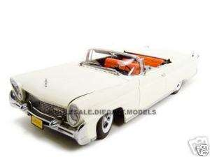 1958 LINCOLN CONTINENTAL MARK 3 WHITE 118 DIECAST