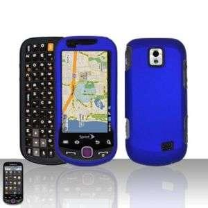 Rubber Blue Hard Case Cover Samsung Intercept M910