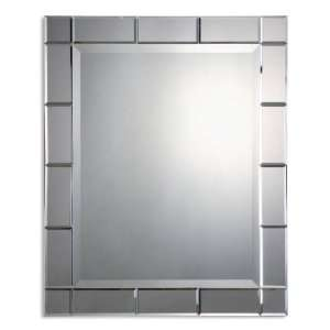 Uttermost 33 Inch Makura Wall Mounted Mirror Beveled Mirrors On Frame