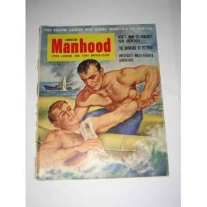 American Manhood April 1953 Jim Park Weider Publications Inc. Books
