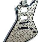 miniature guitar james hetfield metallica diamond plate $ 24 99