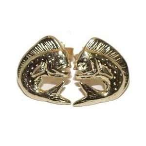 Reyes del Mar 14K Gold Mahi Mahi Earring  Sports