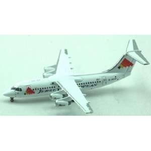 Jet X Jersey EA Bae 146 200 Model Airplane Everything
