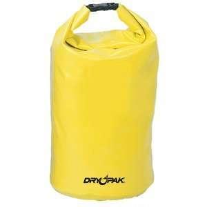 Dry Pak Roll Top Dry Gear Bag (Yellow)   11 1/2 x 19