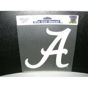University Of Alabama DIE CUT Full Color DECALS 8x8