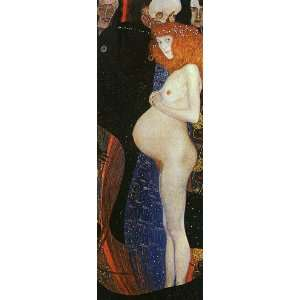 Klimt Art Reproductions and Oil Paintings Hope I Oil Painting Canvas