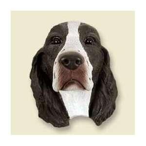 Springer Spaniel Dog Magnet   Liver & White